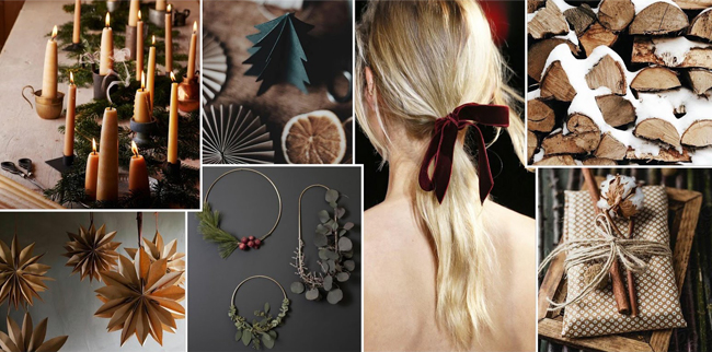 keepsake holiday 2020 mood board