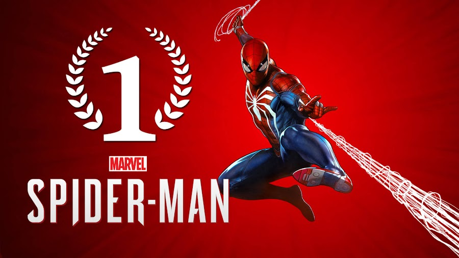 marvel spider-man ps4 best selling superhero game insomniac games