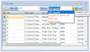Cách sửa lỗi định dạng ngày trong mail merge