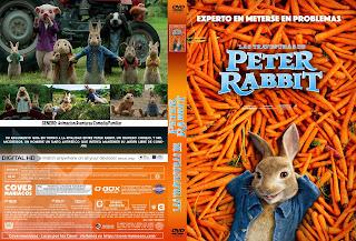 LAS TRAVESURAS DE PETER RABBIT 2018 [COVER DVD+BLU-RAY]