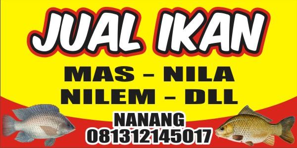 Download Contoh Spanduk Jual Ikan format CDR - KARYAKU