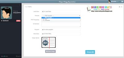 Download Gratis Source Code PHP Aplikasi Perpustakaan
