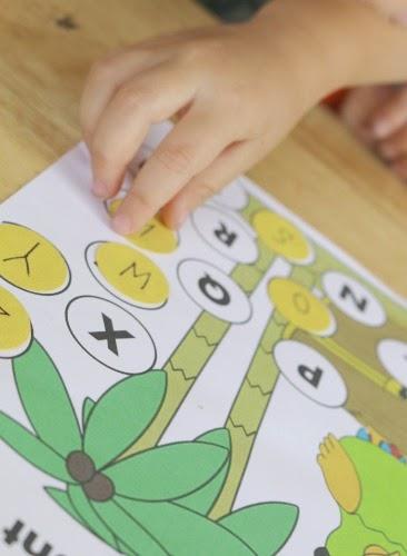 preschool pirate theme alphabet activity