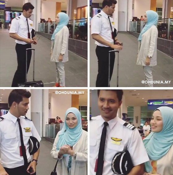 Neelofa Dan Fattah Amin - Suri Hari Mr. Pilot