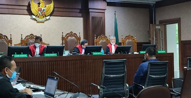Jaksa Dan Hakim Kompak Cecar Soal Pengadaan Goodie Bag Bansos, Broker Irit Bicara