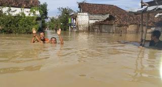 banjir besar benjeng gresik