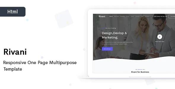 Best Responsive One Page Multipurpose Template