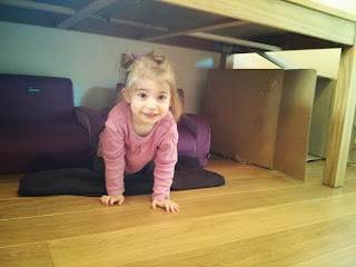 building under the table