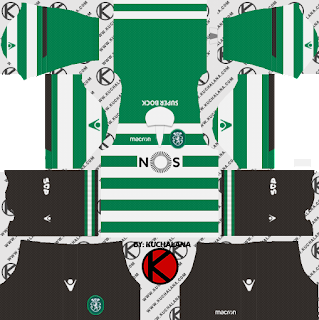 Sporting CP 2018/19 Kit - Dream League Soccer Kits
