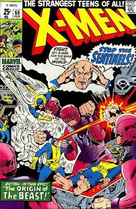 X-Men #68, the Sentinels