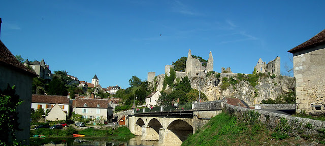 Angles sur l'Anglin, Vienne, France. Photo by Loire Valley Time Travel.