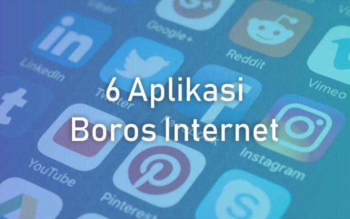 Mengatasi Aplikasi Boros Internet