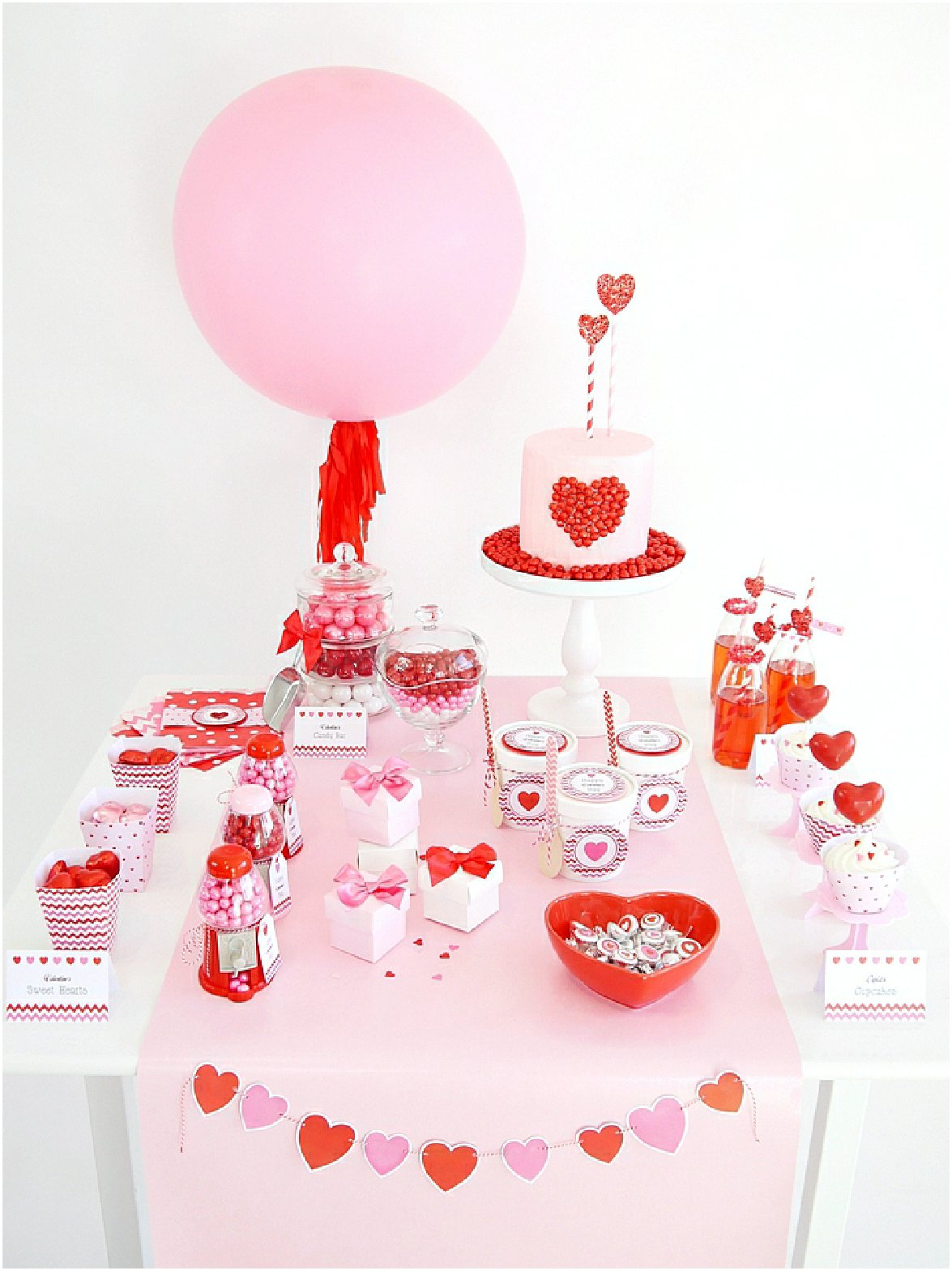 Sweet Table Saint Valentin