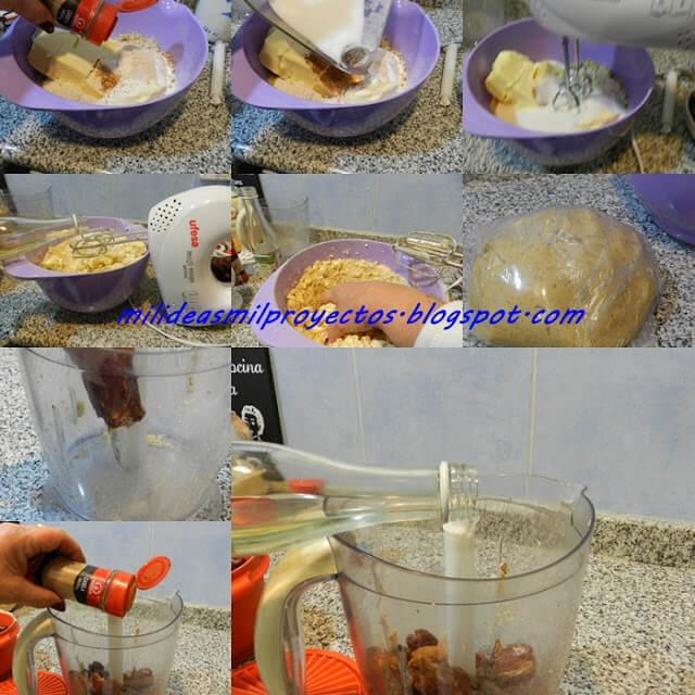 receta de mamul o mamoul datiles y nueces