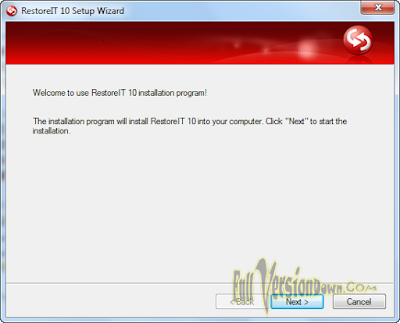 FarStone RestoreIT v10 Build 4.1 Latest Full