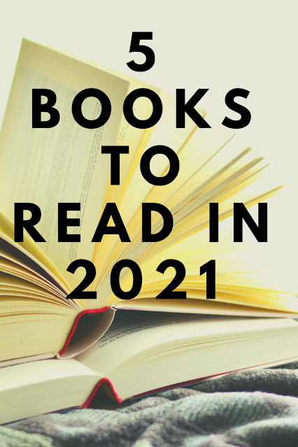 5 Books to Read in 2021 Graphic