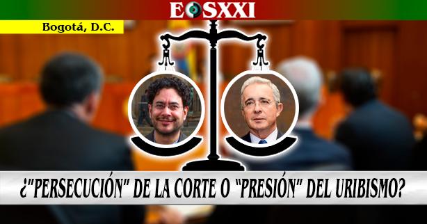 """Detención Domiciliaria a Uribe: entre """"la persecución al líder"""" del CD y su """"campaña de presión"""" a la Corte"""