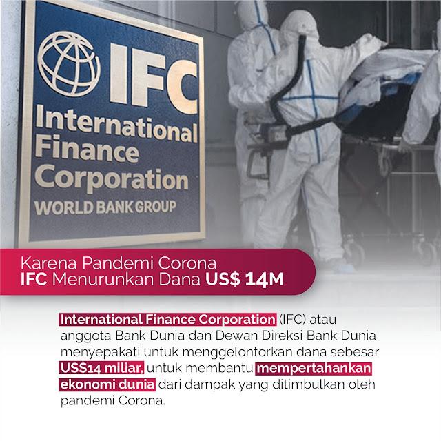 IFC Keluarkan Dana Untuk Pandemi Corona