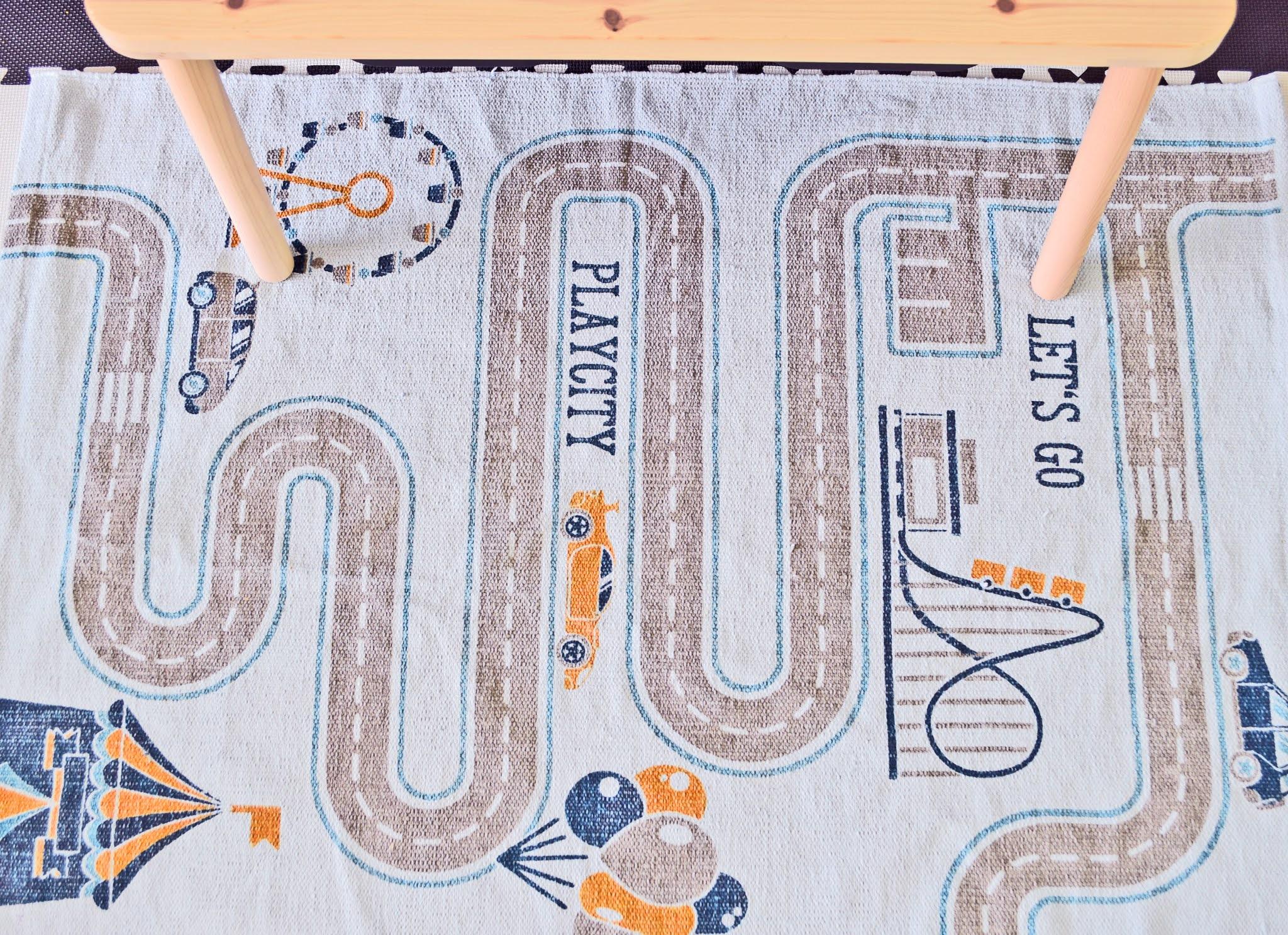 dywan dla dziecka droga