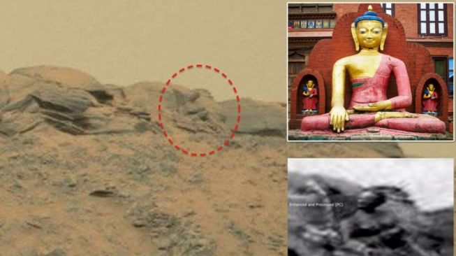 Organisasi Ini Ungkap Ternyata Alien Beragama Buddha, Buktinya Ada di Foto