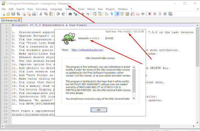 Notepad ++ Full Version Free Download