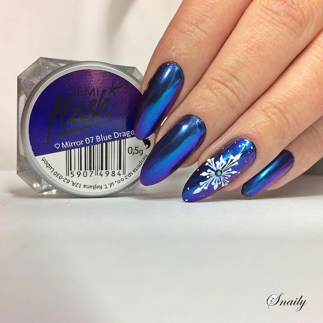 Pierwsza gwiazdka z Semilac SemiFlash Blue Dragonfly