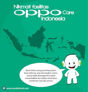 service hp oppo dengan oppo care
