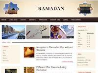 Ramadhan Blogger Template, Momen Ngeblog Puasa Ramadhan Anda