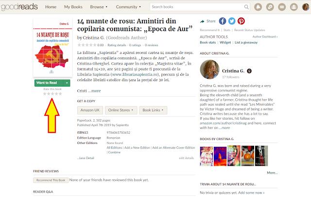 14 nuante de rosu: amintiri din copilaria comunista de Cristina Gherghel