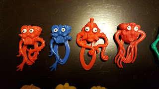 vintage plastic monsters