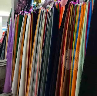 Jenis kain spandek yang di gunakan untuk pakaian