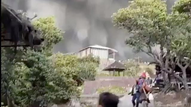 PVMBG: Tangkuban Perahu Mountain Still Potential for Eruption