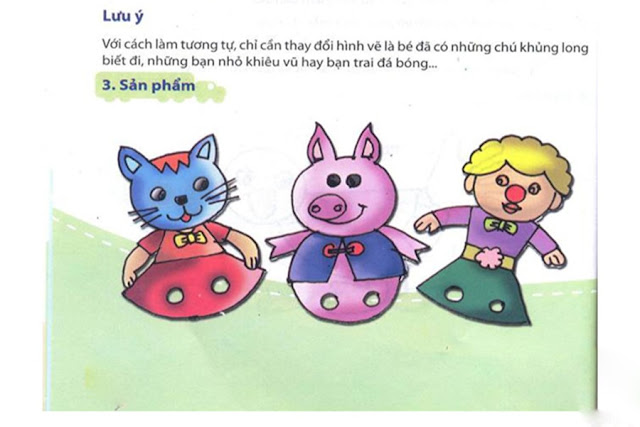Hướng dẫn cách làm đồ chơi cho trẻ mầm non