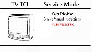 Service Mode TV TCL Berbagai Type