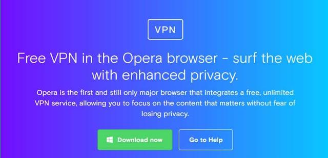 15 Rekomendasi Layanan VPN Gratis Terbaik - Rekomendasi layanan vpn gratis terbaik Opera