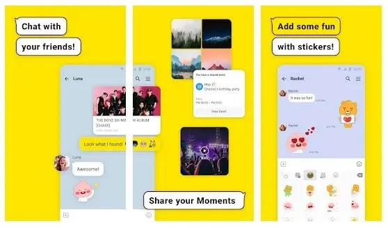 aplikasi chat orang korea paling populer