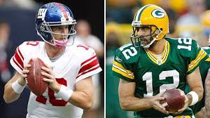 Eli Manning and Aaron Rodgers