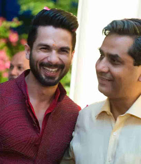 Shahid Kapoor With His Father-In-Law