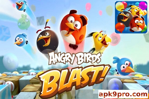 Angry Birds Blast v2.0.4 Apk + Mod (File size 150 MB) for android