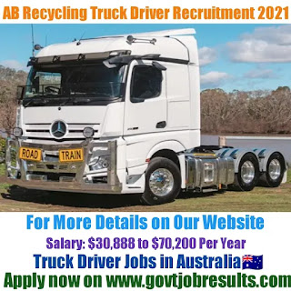 AB Recycling Truck Driver Recruitment 2021-22