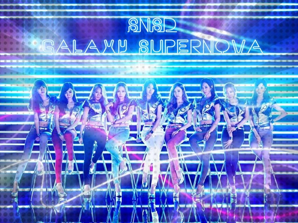 k-pop: SNSD galaxy supernova