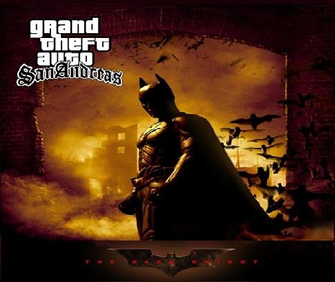 تحميل مود باتمان gta sa شرح تثبيت مود الرجل الخفاش جتا سان GTA San andreas Batman Mod