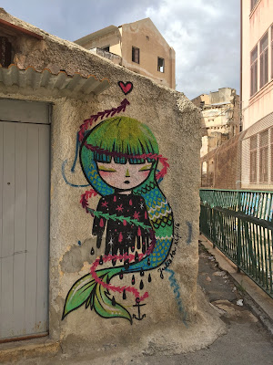 Palermo street art:  Julieta XLF