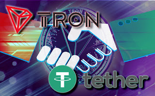 Tron-and-tether-in-partnership