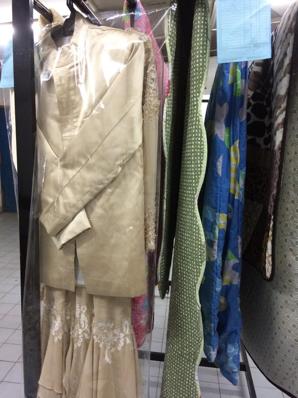 Basuh Baju Pengantin Toto Baju Sejuk Conforter