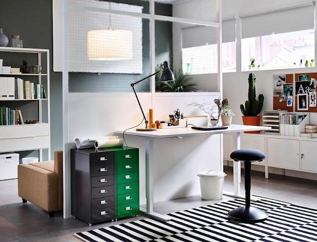 best home office furniture arrangement ideas
