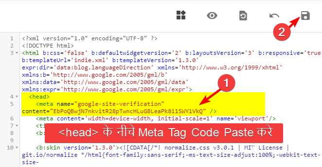 google-site-verification-meta-tag-code-paste-in-blogger-blog-theme-html-coding