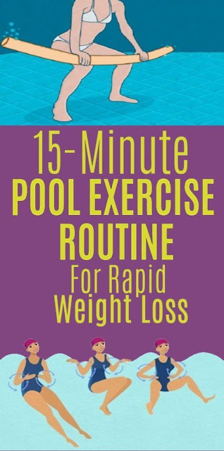 15-Minute Pool Exercise Routine to Lose Weight Rapidly