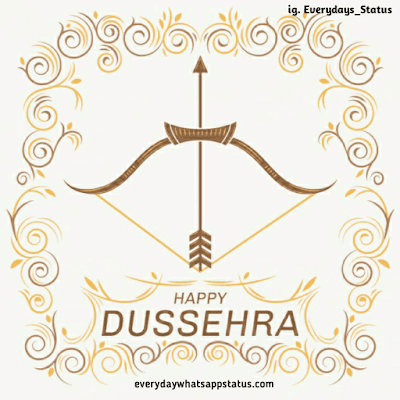 happy dussehra quotes | Everyday Whatsapp Status | Unique 20+ Dusshera Images with Wishes in English