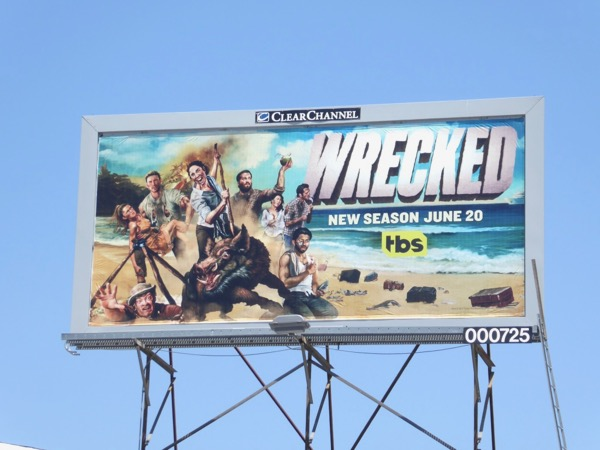Wrecked season 2 billboard